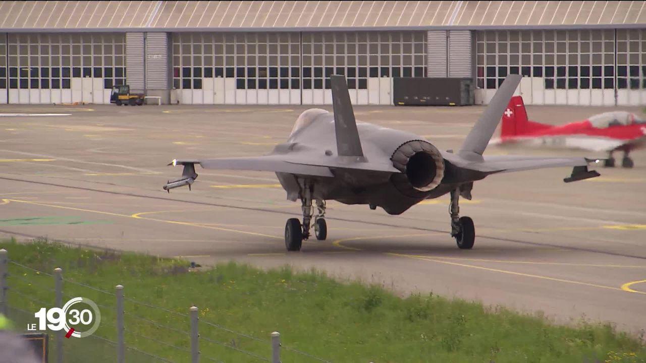 Le Conseil fédéral a choisi: c'est le F-35 américain qui sera le futur avion de chasse de l'armée suisse [RTS]