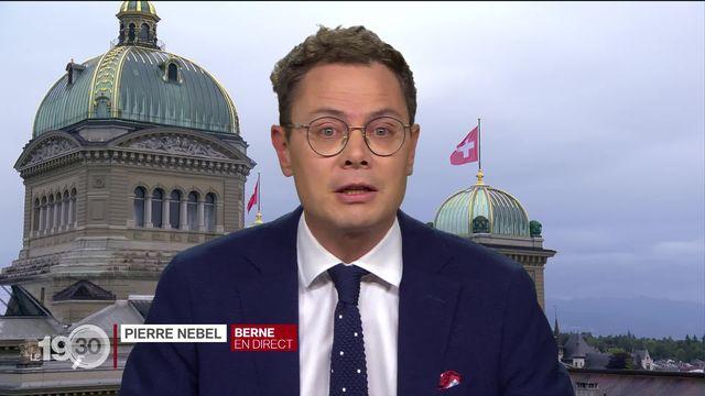 Le décryptage de Pierre Nebel, en direct de Berne [RTS]