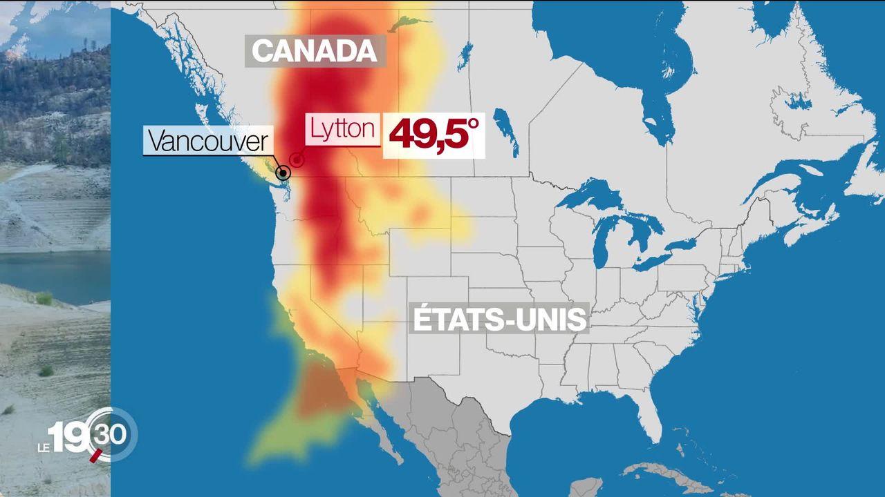 Au Canada, depuis trois jours, il fait 49,5 degrés. Une canicule historique qui a fait une centaine de morts [RTS]