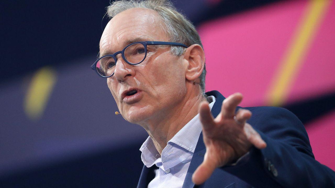 Le Britannique Tim Berners-Lee a créé en 1989 un système de partage de l'information et l'année suivant le premier navigateur Internet, soit les bases du Web actuel. [Oliver Berg - Keystone]