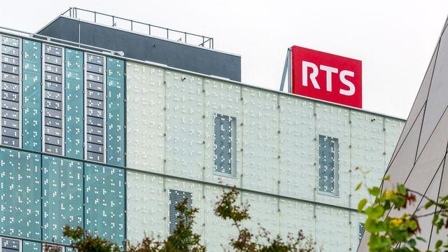 La tour de la Radio Télévision Suisse à Genève. [Laurent Bleuze - RTS]