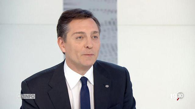 Alexandre Vautravers, expert en sécurité, UNIGE. [RTS]