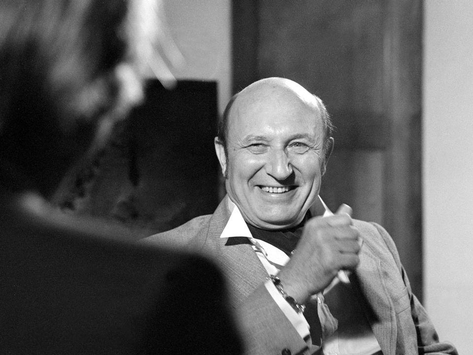 L'écrivain français Frédéric Dard en 1980. [RTS]