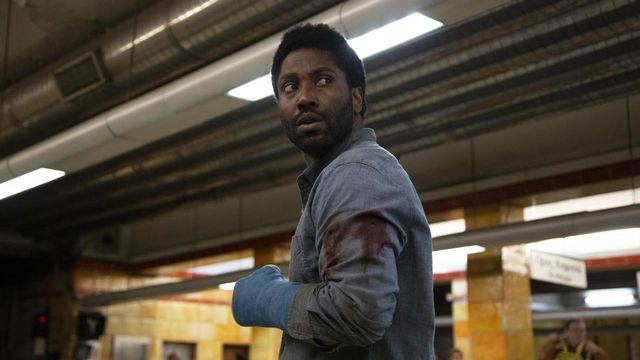 "L'acteur John David Washington dans le thriller ""Beckett"". [Netflix]"