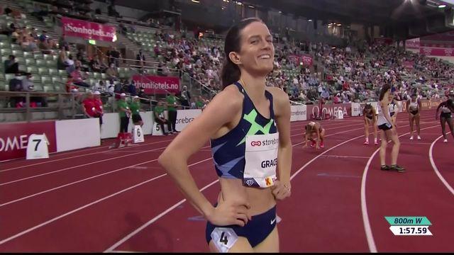 Olso (NOR), 800m dames: Hoffmann (SUI) sur le podium, Grace (USA) intouchable [RTS]