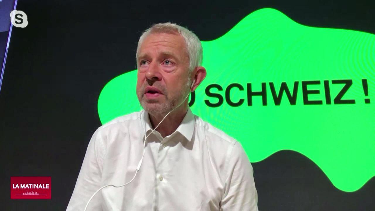 L'invité de La Matinale (vidéo) - Nicolas Bideau, directeur de Présence Suisse [RTS]