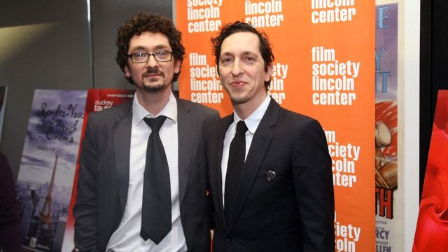 David et Stéphane Foenkinos. [Neilson Barnard/Getty Images North America - AFP]