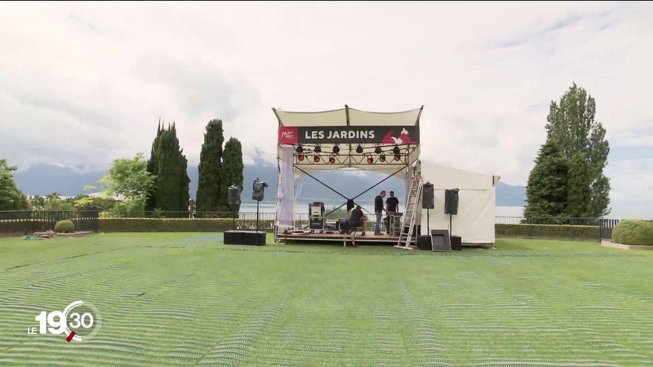Montreux Jazz Festival: installations folles et incertitude de programmation pour cette édition particulière. [RTS]