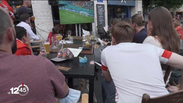 Une soirée forte en émotions pour les supporters de la Nati... ainsi que pour les fans espagnols. [RTS]
