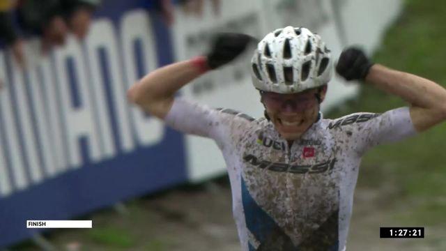 Les Gets (FRA), cross-country dames: victoire de Lecomte (FRA) [RTS]