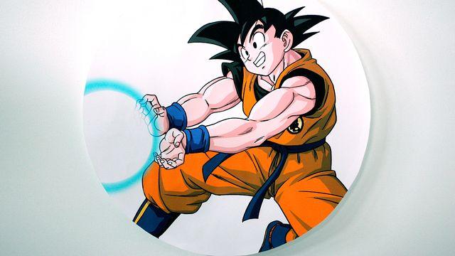 Le personnage de Dragon Ball. [Sébastien Rabany - AFP]