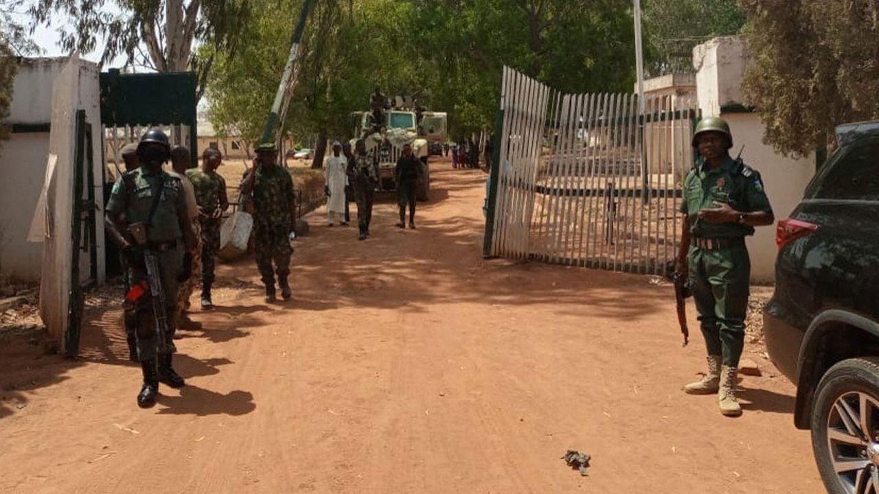 Les attaques d'écoles sont fréquentes au Nigeria, comme ici à Mandao (Etat de Kaduna) en mars 2021. [Bosan Yakusak - AFP]
