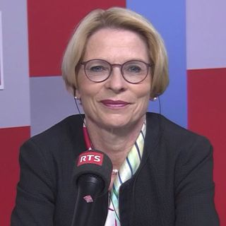 La Grisonne Livia Leu occupe le poste de Secrétaire d'Etat du Département des Affaires étrangères depuis janvier 2021. [Forum - RTSinfo]