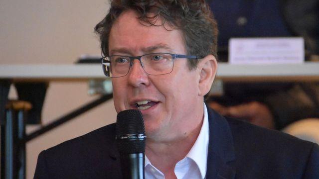 Albert Rösti, nouveau président de la FSFM. [Gaël Klein - RTS]