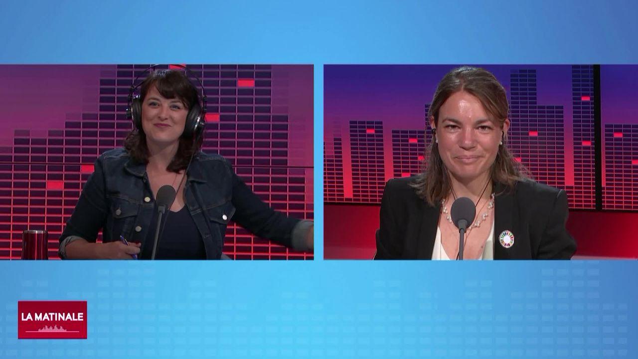 Un été météorologique particulier (vidéo): interview d'Elise Buckle [RTS]