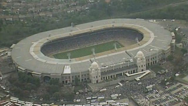 Visite du stade historique de Wembley en 1981 [RTS]