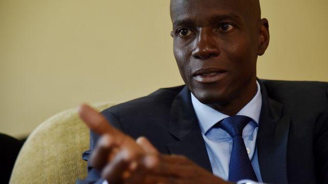 Le président haïtien Jovenel Moïse a été victime d'une tentative de coup d'Etat. [AFP]