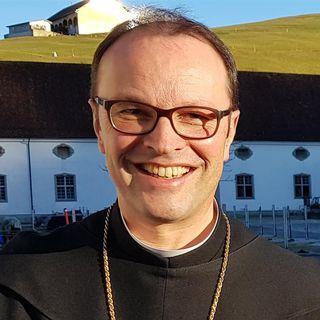 Urban Federer, abbé du monastère bénédictin d'Einsiedeln [Davide Pesenti - RTSreligion]