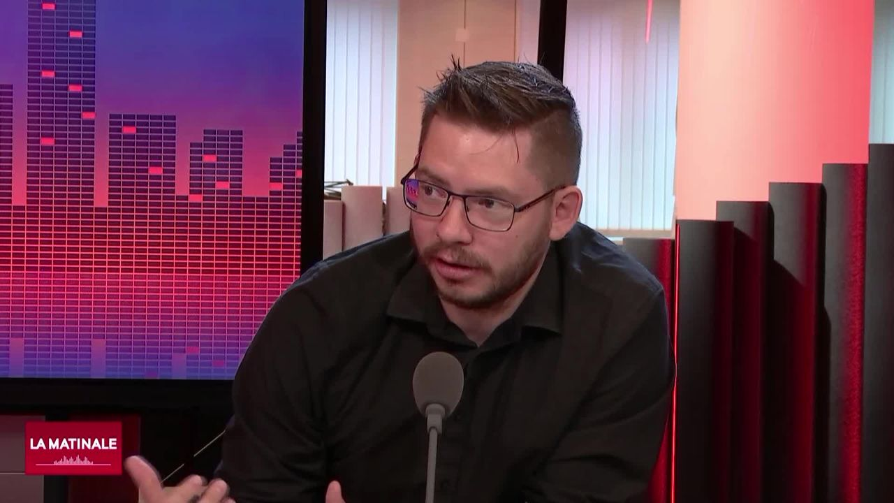 L'invité de La Matinale (vidéo) - Yannick Rochat, professeur assistant en étude des jeux vidéo à l'UNIL [RTS]