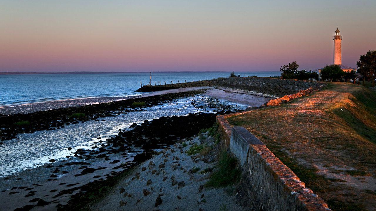 Le phare Richard, sur l'estuaire de la Gironde en Aquitaine. [Philippe Roy - Aurimages/AFP]
