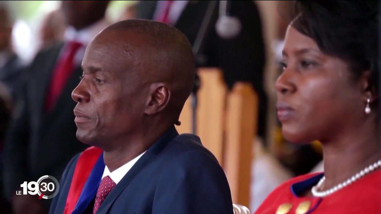 Haïti sous le choc après l'assassinat du président Jovenel Moïse. [RTS]