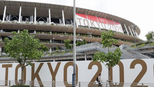 Le stade national ne sera pas rempli lors des Jeux olympiques. [Norikazu Tateishi - AFP]