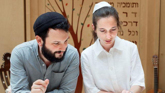 Iris Ferreira, première femme ordonnée rabbin en France. [Hervé Chappe]