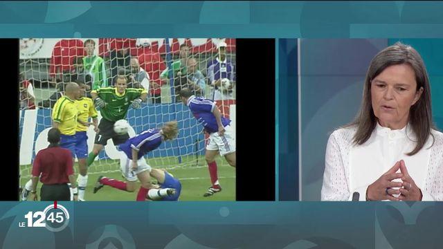 Page Euro 2020: Rencontre philosophique autour du football avec l'autrice Marie-Claude Sawerschel [RTS]