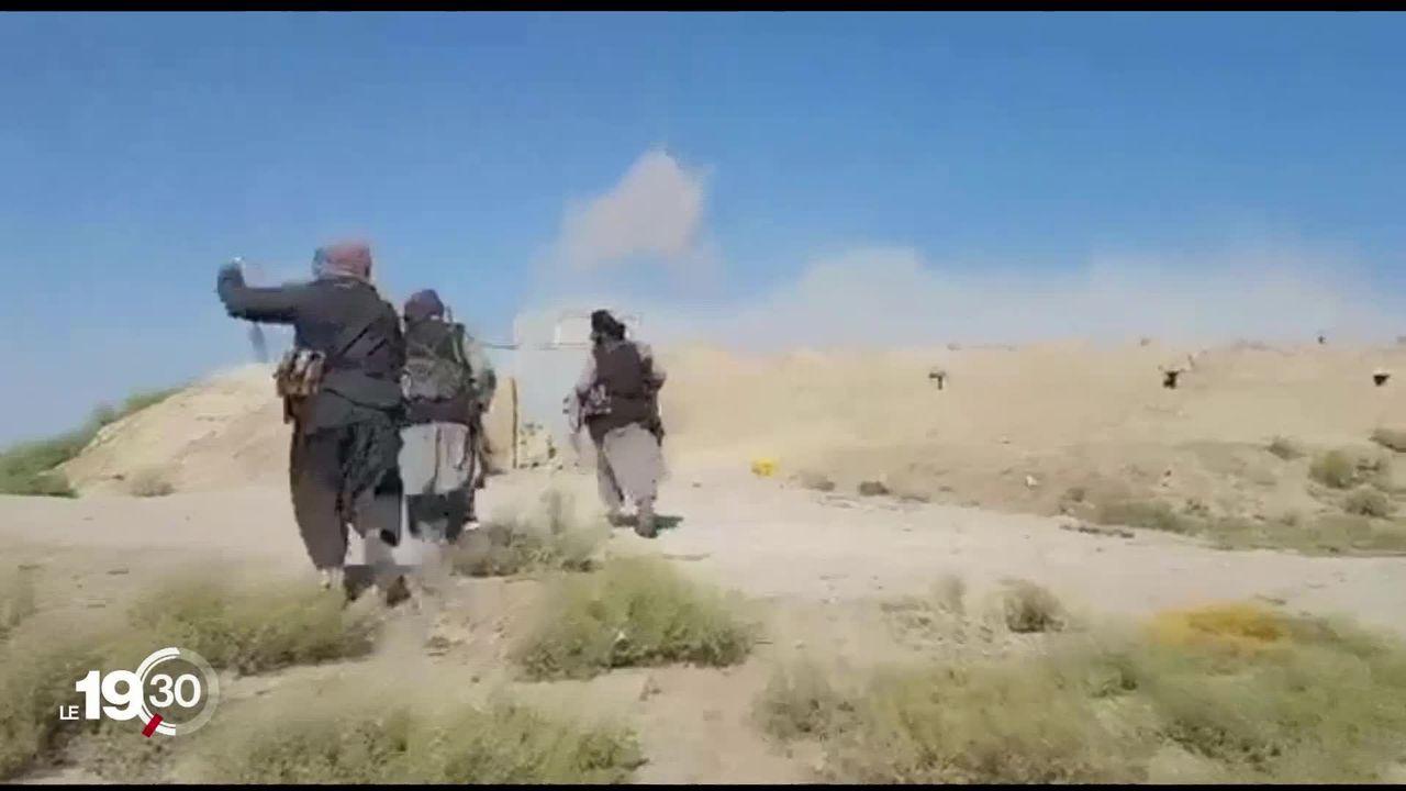 Le retrait américain d'Afghanistan est avancé, laissant de larges pans du territoire aux Talibans [RTS]