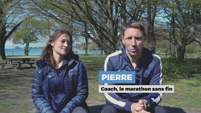 Pierre et Ludivine, les coachs de la série [RTS]