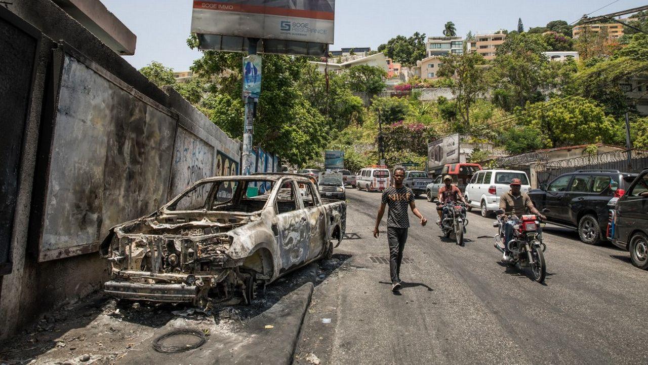 L'assassinat du président d'Haïti mercredi a aggravé la crise institutionnelle dans laquelle était déjà plongé ce pays pauvre des Caraïbes depuis des mois. [Valerie Baeriswyl - afp]