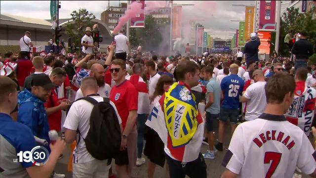 Euro-2021: Londres retient son souffle avant cette finale historique [RTS]