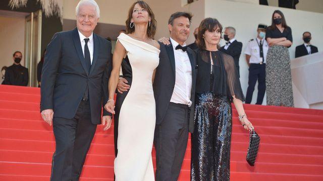 """Autour de François Ozon et de son film """"Tout s'est bien passé"""". [JACKY GODARD / PHOTO12 VIA AFP -  PHOTO12 VIA AFP]"""