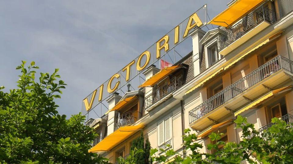 L'hôtel Victoria de Caux [RTS]