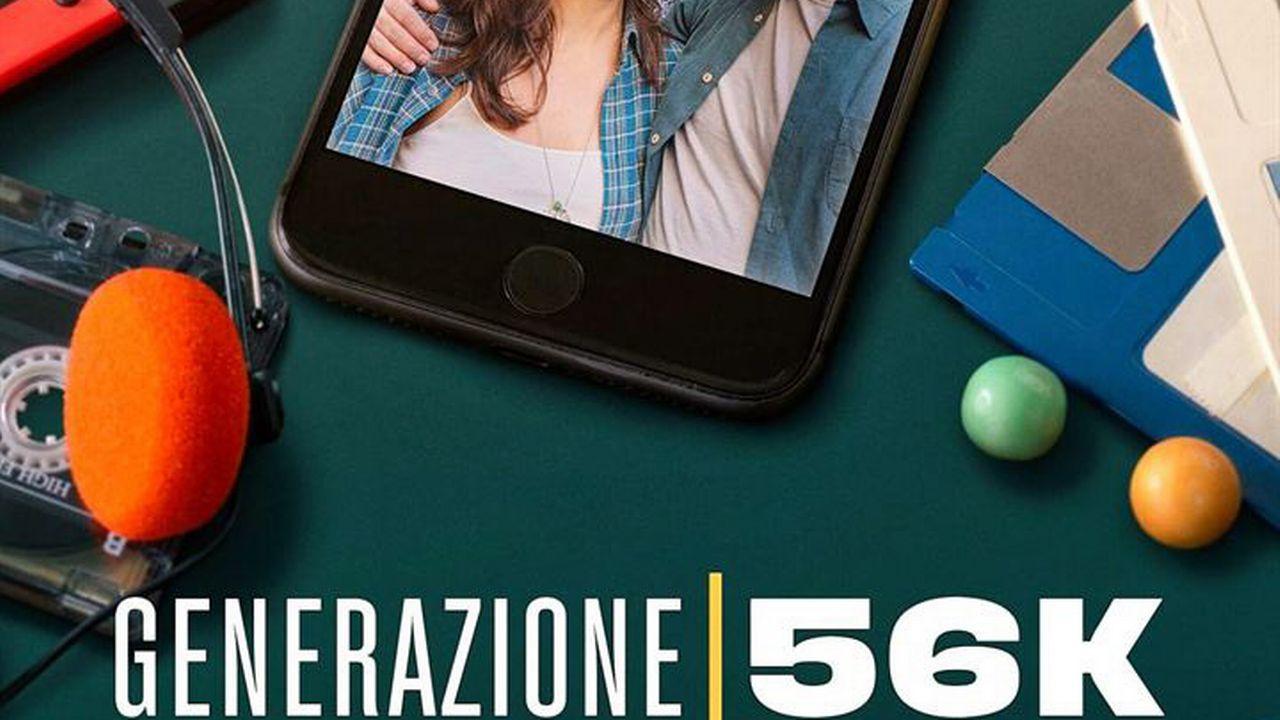 """L'affiche de la série """"Generation 56K"""""""