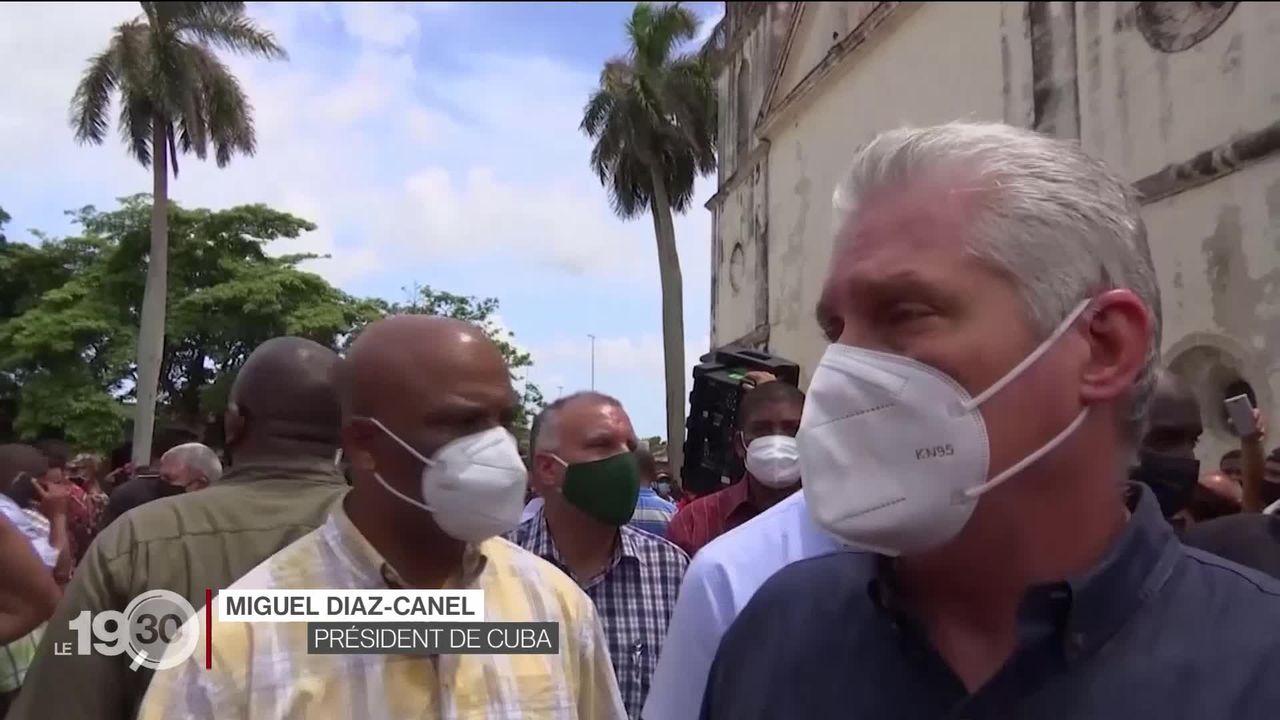Touchés par une grave crise économique, des habitants de Cuba se révoltent contre la dictature communiste [RTS]