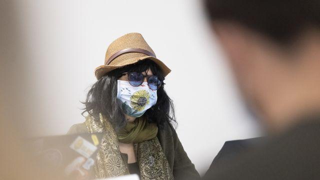 Une zadiste a porté plainte contre la police à la suite de l'évacuation du Mormont (VD). Elle estime que les forces de l'ordre n'ont pas respecté un accord conclu avant l'opération. Elle dénonce une répression démesurée et une criminalisation des militants du climat. [CYRIL ZINGARO - KEYSTONE]