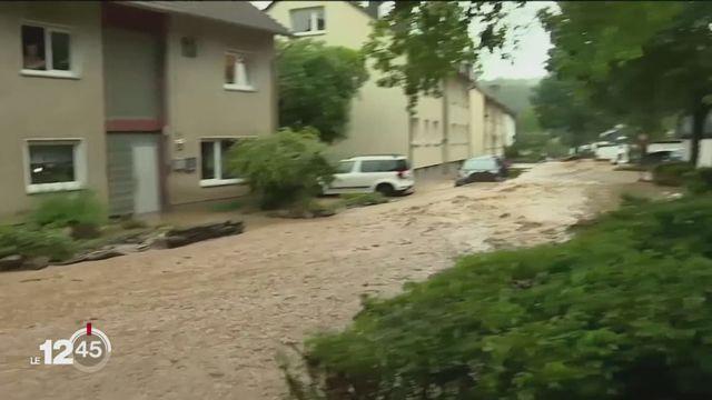 Inondations meurtrières en Allemagne [RTS]