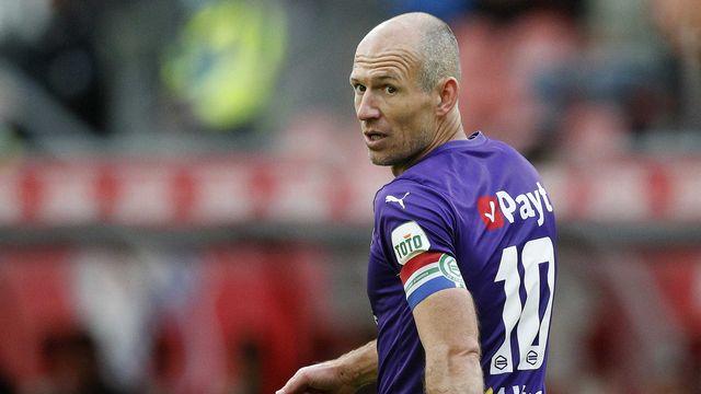 Robben compte 96 capes au sein de la sélection des Pays-Bas avec laquelle il a disputé la finale du Mondial 2010. [Jeroen Putmans - Keystone]