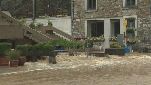 Importantes inondations en Belgique [RTS]