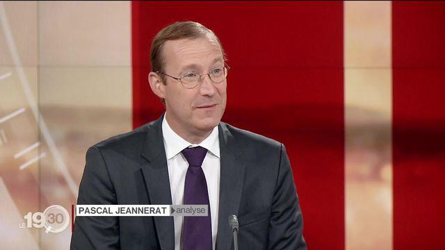 """Pascal Jeannerat: """" On va accélérer une transition qui va pénaliser certains secteurs"""" [RTS]"""