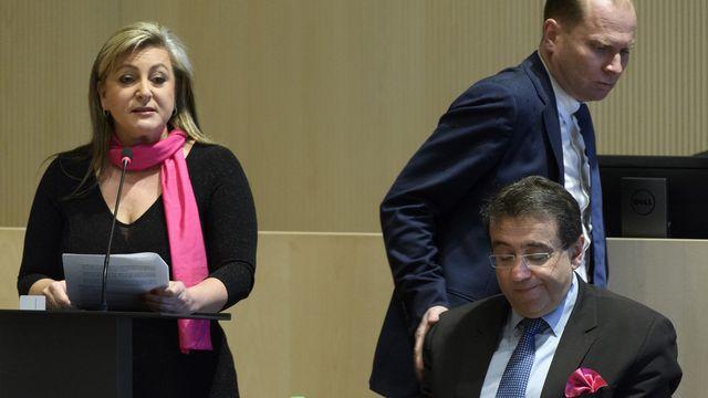 Le texte amedndé par la gauche pourrait empêcher un nouveau mandat de Pascal Broulis et Philippe Leuba. [Laurent Gilliéron - Keystone]