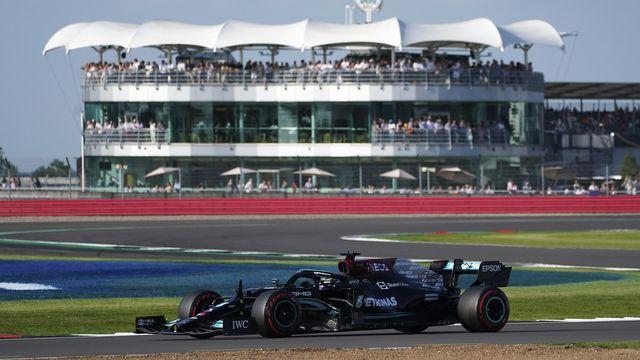 Lewis Hamilton s'est montré le plus rapide sur le circuit de Silverstone. [Jon Super - Keystone]
