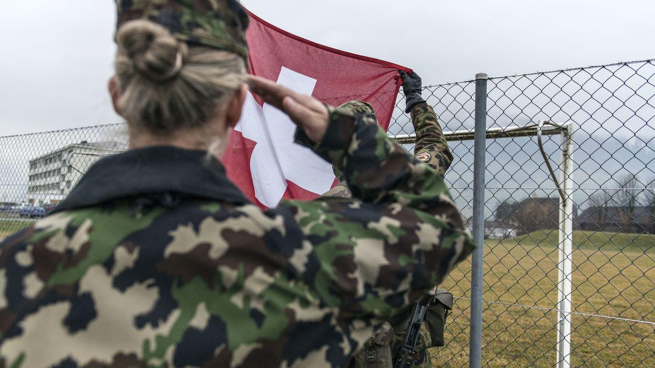 La Société Suisse des Officiers (SSO) est favorable au service militaire obligatoire pour les femmes. [Christian Beutler - Keystone]