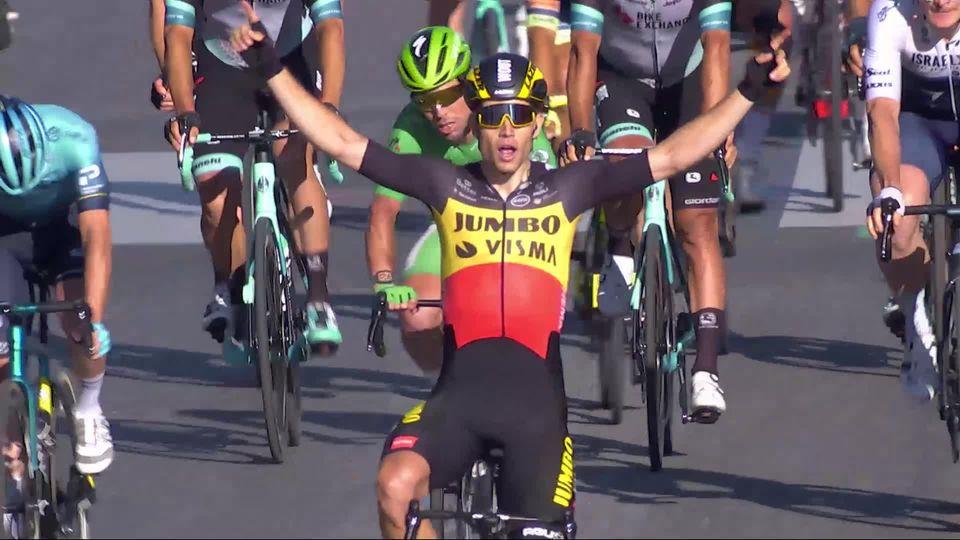 Etape 21, Chatou - Paris: le sprint des Champs-Elysées remporté par Van Aert (BEL) ! [RTS]