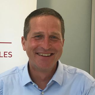 Frank Kumli, directeur de l'innovation et de l'entrepreneuriat, Basel Area. [Dominique Choffat - RTS]