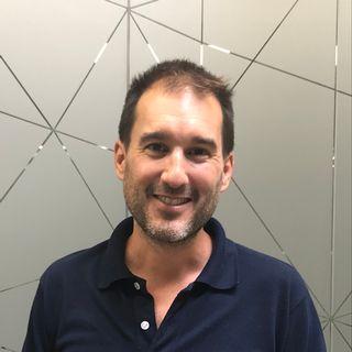 Marc Turner, responsable du programme startups de Microcity. [Dominique Choffat - RTS]