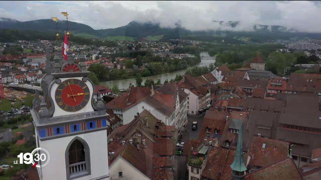 Série sur les lieux de pouvoir: Aarau a été pendant quelques mois la première capitale de la République helvétique [RTS]
