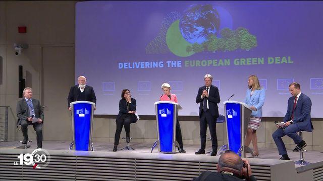 L'Union européenne lance un plan climatique d'une ambition inédite dans l'histoire du continent [RTS]