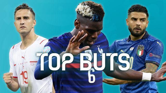 EURO 2020: les plus beaux buts de la phase à élimination directe [RTS]